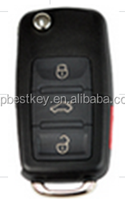 Standard universal flip key remote 3+1 button remote control case for KD300 KD900 and URG200 to produce any model remote