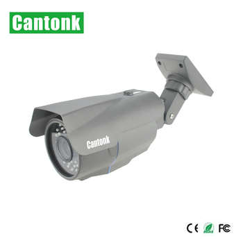 Direct factory metal bullet housing cctv camera 1080p HD AHD zoom SONY sensor camera 4