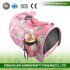 QQPet Protable Dog Cage & Lovable Pink Pet Dog Carrier & Pet Dog Supplies