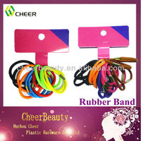 mini colored rubber bands