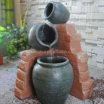 Urns Resin Outdoor Garden Fountains And Water Features