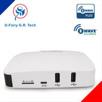 z-wave smart wireless gateway with strong compatibility for home automation system