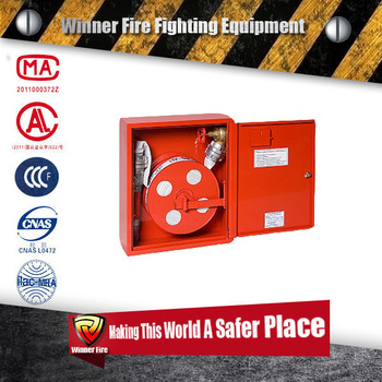 Fire Hose Cabinet Single Drawer Fire Resistant Cabinet with Hose and Hose Reel
