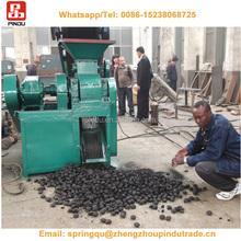 Small sawdust charcoal briquette briquetting presses making machine machines price