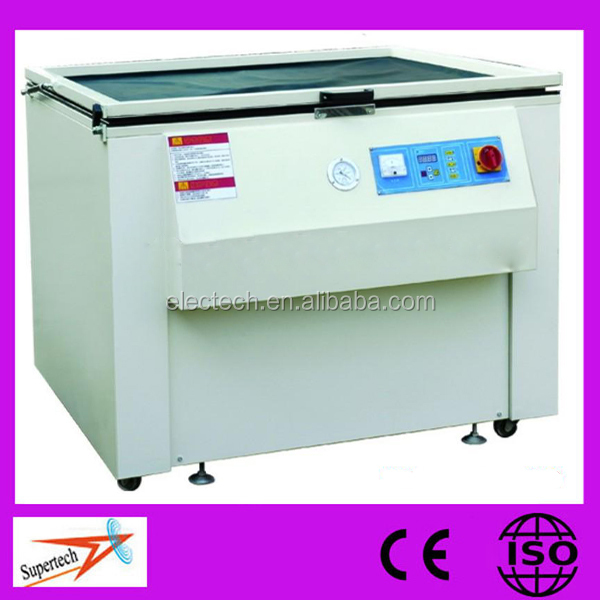 CE Approved Totally-enclosed Microcomputer Screen Printing Exposure Machine