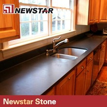 Newstar High Quality Polished Natural Black Slate Counter Top