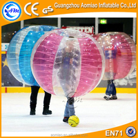 half color cheap bubble soccer ball inflatable football bubble ball for sale
