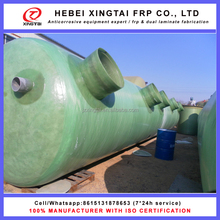 FRP fiberglass grp water treatment septic tank