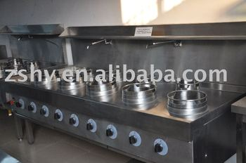 High quality Stainless steel British-style GAS stoves