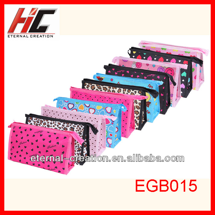 promotional cute cheap cosmetics bag cheap wholesale makeup bags