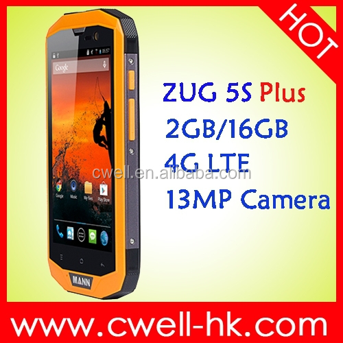 5.0 Inch Qualcomm MSM8926 quad core IP67 Waterproof single sim 4g phone rugged