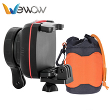 Wewow world leading high technology mini video grip handle sport camera gimbal motor for bike