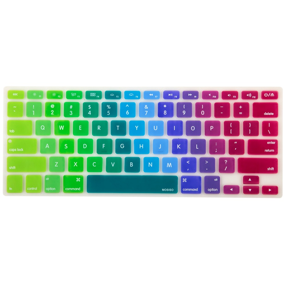 2016 wholesale in stock for macbook 13 air pro custom silicone keyboard cover