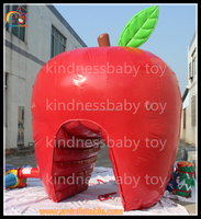 hot sale advertising products giant Inflatable apple , inflatable apple shape for sale