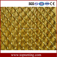 Wire Woven Fabrics,Architectural Drapery,High-end Metal Coil Drapery