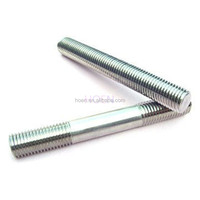 grade 8.8 DIN939 double end studs threaded rods