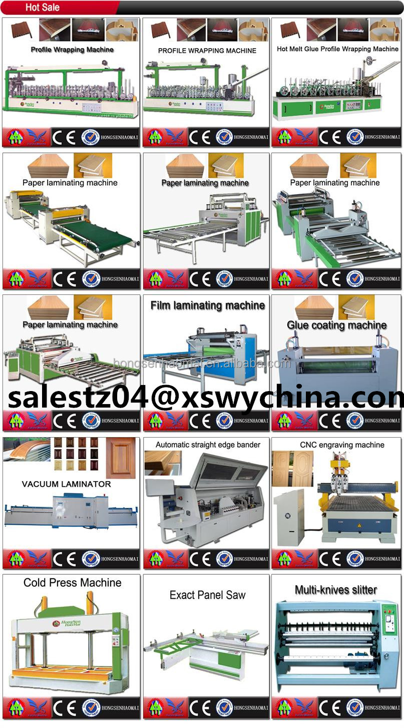 Scrap-coating profile wrapping machine for Aluminum alloy