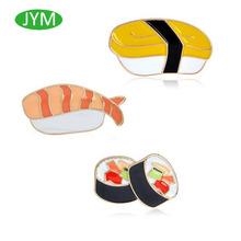 Set of 3 Sushi Pins Enamel Pin Ships From China Super Cool Awesome pin