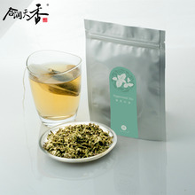 Organic dried mint leaves herbal tea bags