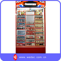 Cosmetics nutrition food flooring display stand