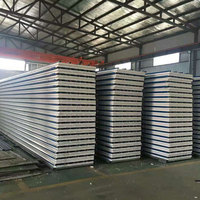 Metal 50mm-200mm thickness eps wall sandwich sheet for sale