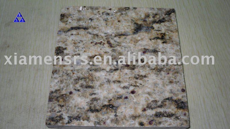 Brasile o piedra giallo santa cecilia granito encimeras for Granito brasileno