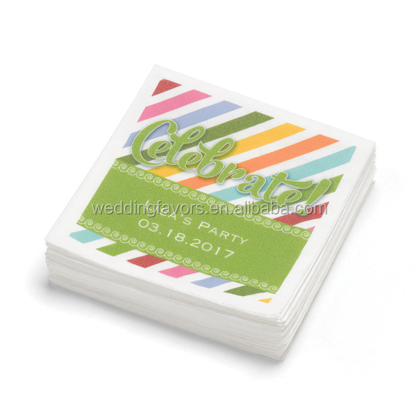 Up Up and Away Personalized Napkins (Pack of 100)