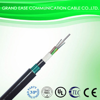 single mode 2015 outdoor GYTY53 fiber optic stranded loose tube cable