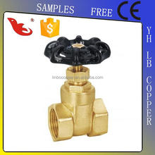 "LB-Gutentop 1/2""-4"" 200wog Forged Brass Lockable Gate Valve"