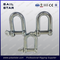 JIS type Galvanized D shackle