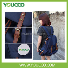 2014 Fashion Korean Style Leather Backpack for High School