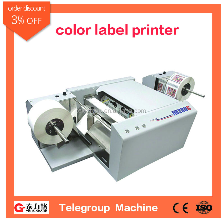 Color printer label - High Speed Roll To Roll Color Ink Jet Label Printer Jm280c Buy Label Printer Color Label Printer Color Ink Jet Label Printer Product On Alibaba Com