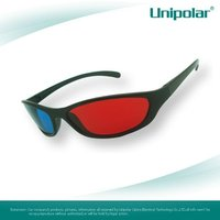 Red cyan 3d glasses for all tv
