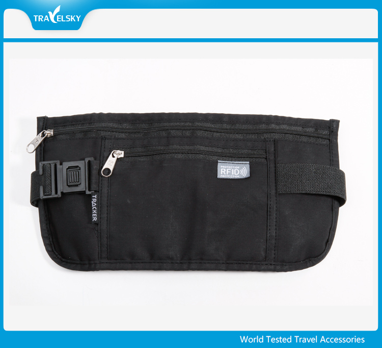 Travel Portable Security Waist RFID Travel Money Belt