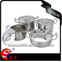Hot sale high quality 8PCS Stainless Steel cookware sets / Kitchen Ware