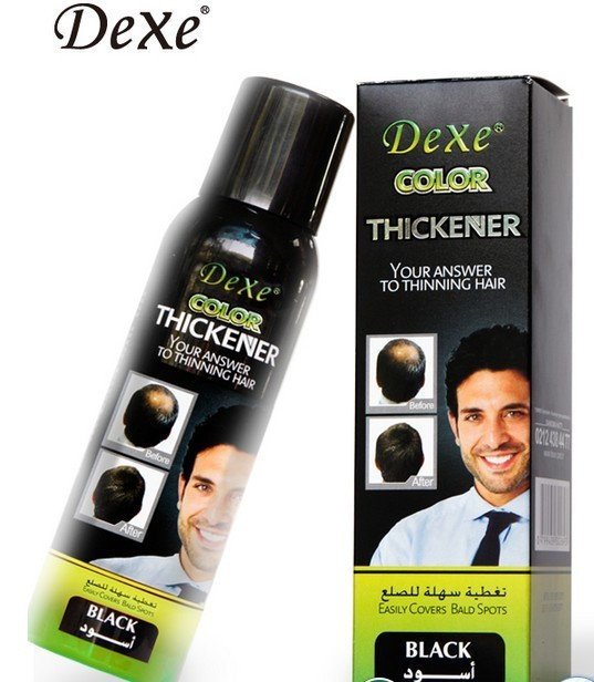 magic men hair growth product dexe hair thickener spray for hair loss treatment