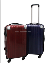 chinese manufacturer Decent Abs/pc Trolley Bag/trolley Luggage With 4 Universal Wheels