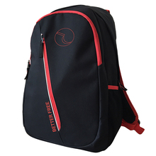 Cheap black notebook school backpack for boys and girls