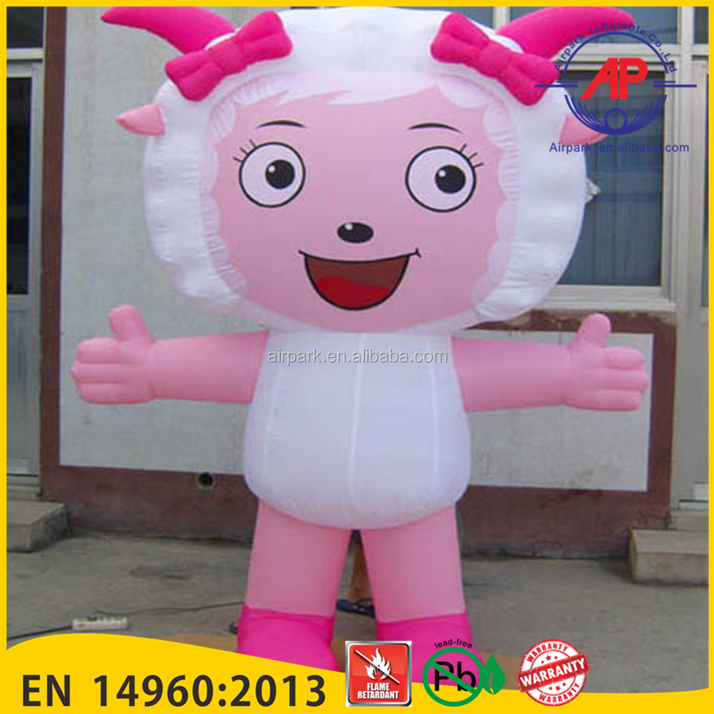Airpark PVC Advertising Inflatables Popular Cartoon Characters
