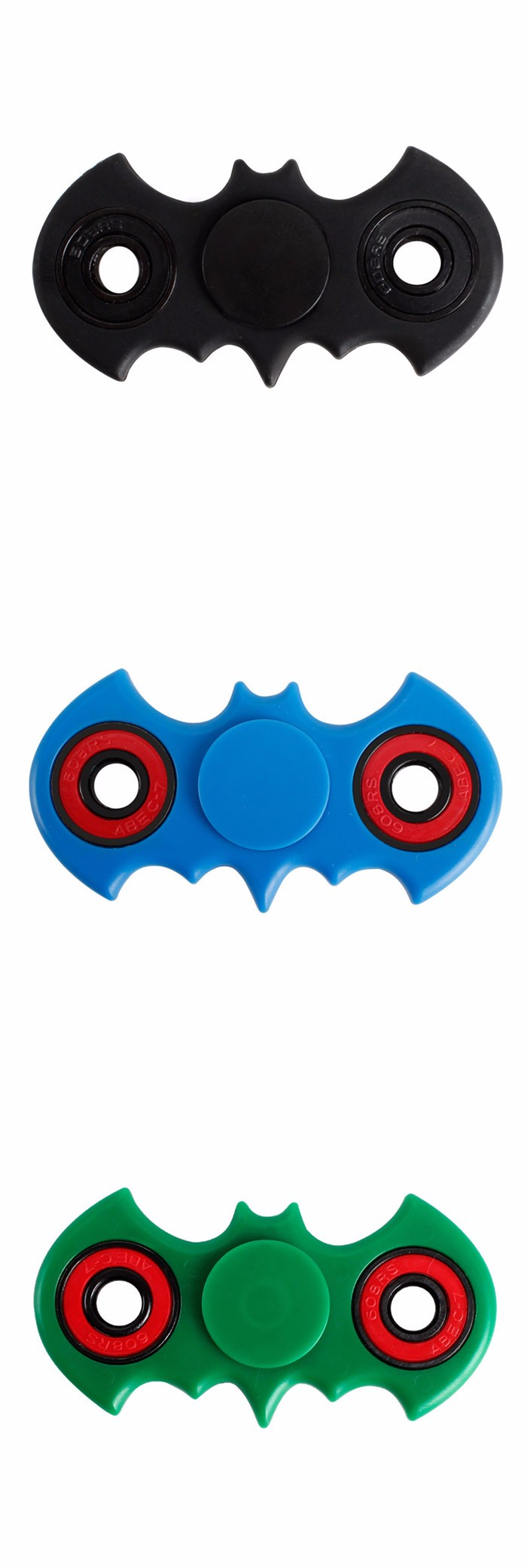 EDC Toy Bat Batman Finger Hand Fidget Spinner