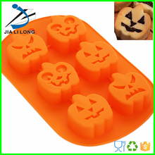Halloween pumpkin cup cake tray/ silicone cake mold