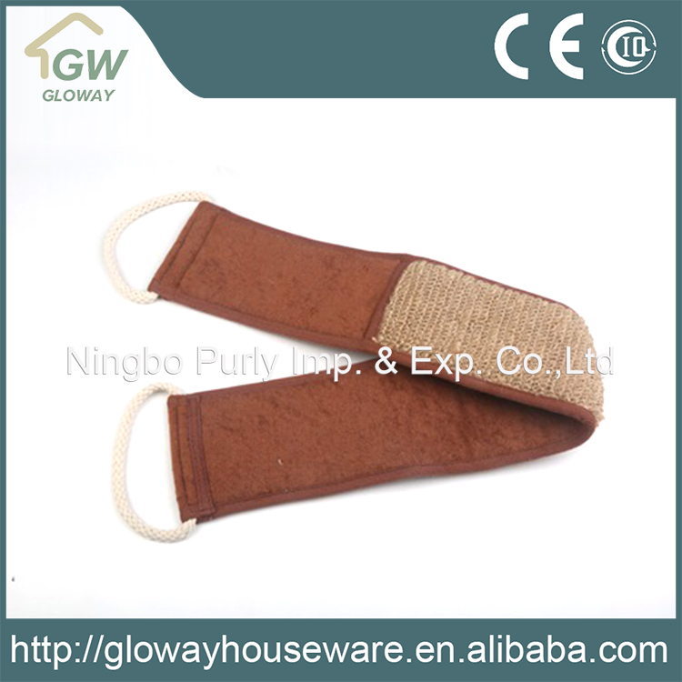 China supplier high quality long handle bath sponge