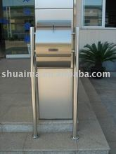 apartment stainless steel mailbox