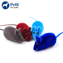 Pet Dog Products Pet Toys 100PCS Mix Color Colorful Rope Funny Mouse Cat Toys