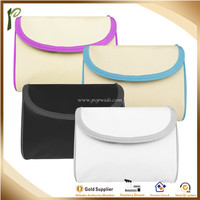 Popwide newest 2014 Factory Sale Micro Fiber travel cosmetic bag