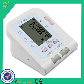 Cheap Digital Fully automatic Blood Pressure Monitor with CE and FDA Approved