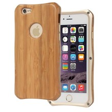 Bamboo Hard Case for iPhone 6 6 Plus,for iPhone 6 Metal Cover