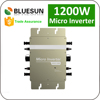 China best manufacturer solar power system micro inverter 1200w with output AC120v, 230v