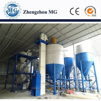 China turnkey solution CE and ISO certificate automatic dry mortar mixer manufacturer export to Dubai hot sale