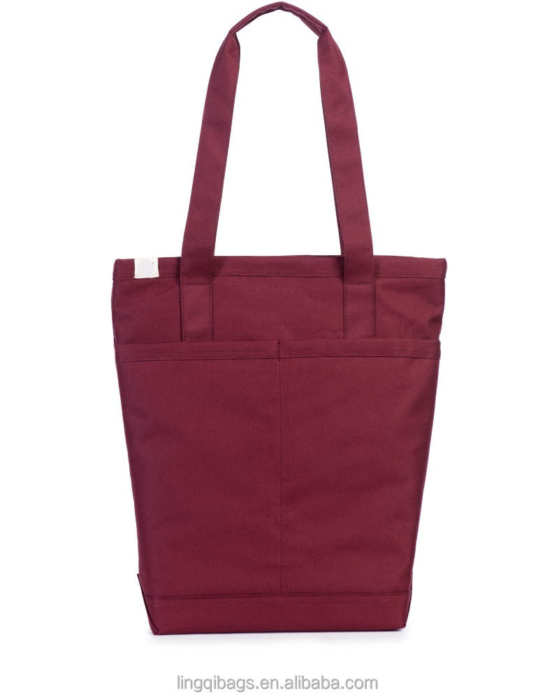 Hot sell delicate women bag outdoor customised tote bag